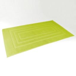 Tapis de bain 50 x 85 cm eponge unie vitamine Anis