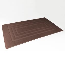Tapis de bain 50 x 85 cm eponge unie vitamine Choco