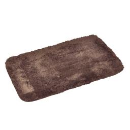 tapis de bain chinchilla microfibre 50*80cm vitamine chocolat