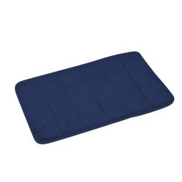 tapis de bain mémoire de forme microfibre 40*60cm vitamine indigo
