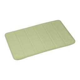 Tapis de bain memoire de forme microfibre 40*60cm vitamine Wasabi