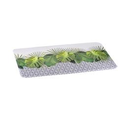 tapis de bain microfibre 45*75cm graphic jungle