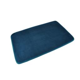 Tapis de bain microfibre 45*75cm vitamine bleu emeraude Bleu/emeraude