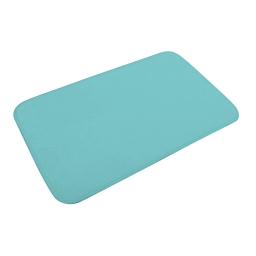 tapis de bain microfibre 45*75cm vitamine vert menthe