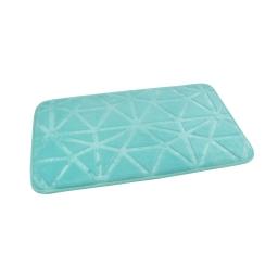 "Tapis de bain microfibre relief ""origami"" 45*75cm vitamine vert menthe Vert/menthe"