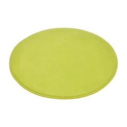 tapis de bain rond microfibre ø60cm vitamine anis