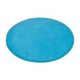 tapis de bain rond microfibre ø60cm vitamine bleu ocean