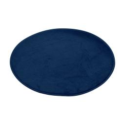 tapis de bain rond microfibre ø60cm vitamine indigo