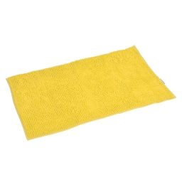 tapis de bain sweety microfibre 45*75cm vitamine jaune