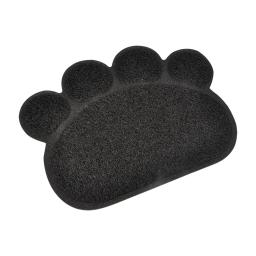 tapis de litiere pvc pattou pour chat l30*40cm noir