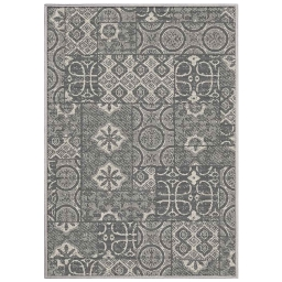 tapis deco rectangle 120 x 170 cm tisse reversible mindila