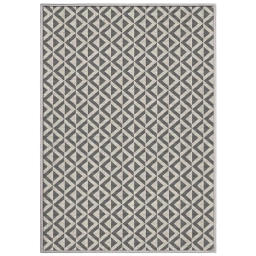 tapis deco rectangle 120 x 170 cm tisse reversible trinity