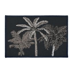 tapis deco rectangle 40 x 60 cm imprime cocoty