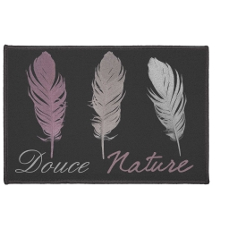 tapis deco rectangle 40 x 60 cm imprime doucea