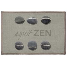 Tapis deco rectangle 40 x 60 cm imprime esprit zen
