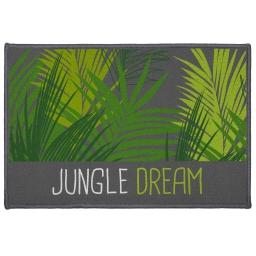 tapis deco rectangle 40 x 60 cm imprime jungle dream