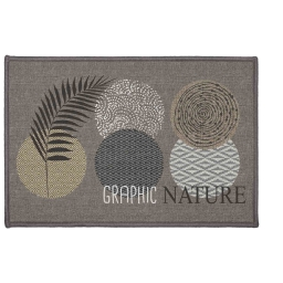 tapis deco rectangle 40 x 60 cm imprime odaly graphic
