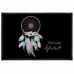 tapis deco rectangle 40 x 60 cm imprime tipi spirit