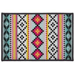 tapis deco rectangle 40 x 60 cm imprime waxy