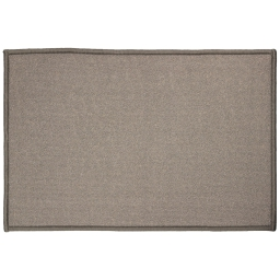 Tapis deco rectangle 40 x 60 cm uni primo Gris