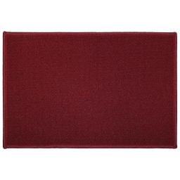 Tapis deco rectangle 40 x 60 cm uni primobis Rouge
