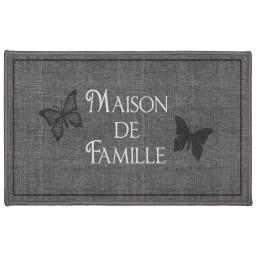 tapis deco rectangle 50 x 80 cm imprime familia