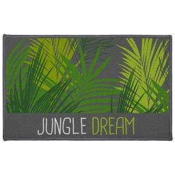 tapis deco rectangle 50 x 80 cm imprime jungle dream