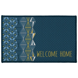 tapis deco rectangle 50 x 80 cm imprime kessy