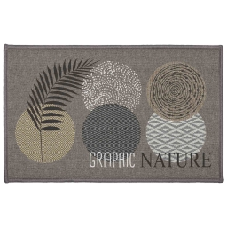 tapis deco rectangle 50 x 80 cm imprime odaly graphic