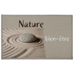 tapis deco rectangle 50 x 80 cm imprime ondulation