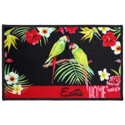 tapis deco rectangle 50 x 80 cm imprime toucana