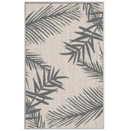 tapis deco rectangle 50 x 80 cm tisse reversible cubana