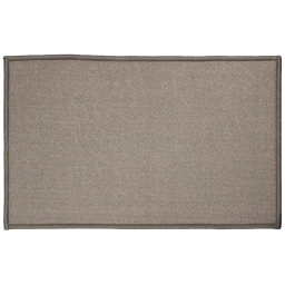 Tapis deco rectangle 50 x 80 cm uni primo Gris