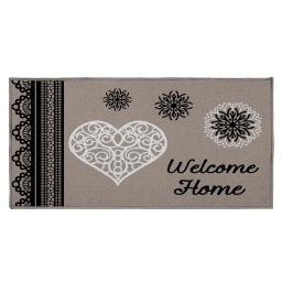 tapis deco rectangle 57 x 115 cm imprime angeline