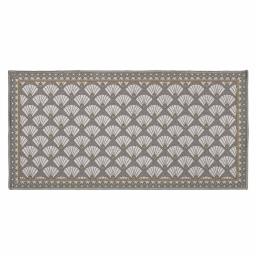 tapis deco rectangle 57 x 115 cm imprime art deco chic