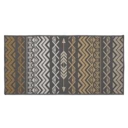 tapis deco rectangle 57 x 115 cm imprime zaparos