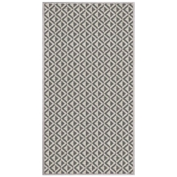 tapis deco rectangle 80 x 150 cm tisse reversible trinity