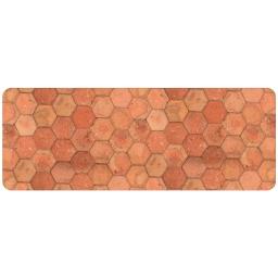 tapis en mousse 45 x 120 cm mousse imprimé Tomettia
