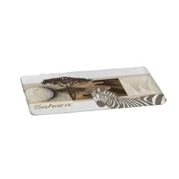 tapis microfibre 45*75cm douceur d'interieur design zebre