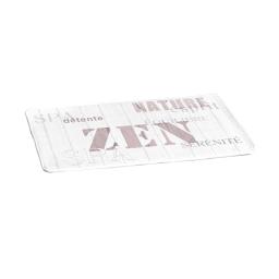 tapis polyester 45*75cm zen wood