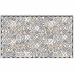 Tapis rectangle 100 x 170 cm vinyle alicante Naturel