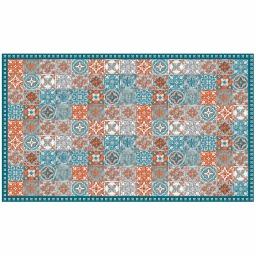 Tapis rectangle 100 x 170 cm vinyle alicante Orange
