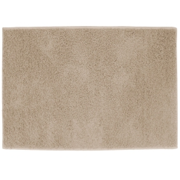 Tapis rectangle 117 x 166 cm tisse uni twist Beige