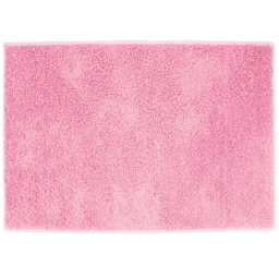 Tapis rectangle 117 x 166 cm tisse uni twist Rose