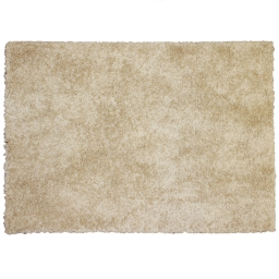 Tapis rectangle 120 x 170 cm tisse uni palace Beige