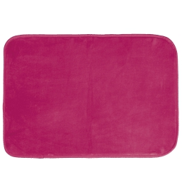 Tapis rectangle 120 x 170 cm velours uni louna Rose