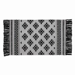 tapis rectangle 50 x 80 cm coton imprime anoka