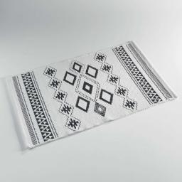tapis rectangle 50 x 80 cm coton jacquard inca