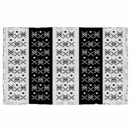 tapis rectangle 50 x 80 cm coton jacquard tribaly love