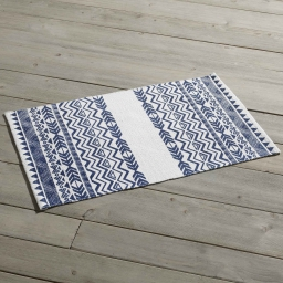 Tapis rectangle 50 x 80 cm imprime lacanau Marine